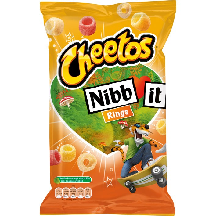 Chips Cheetos Nibb It Rings 110 Gram Alles In 1