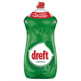 Afwasmiddel Dreft groen   1  flacon 1,5 liter   1+1 GRATIS