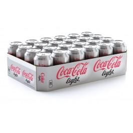 Coca cola light blikjes 24 x 0,33L
