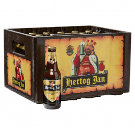 Hertog Jan bier krat 24 flesjes x 0,3L  OP=OP