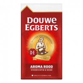 Koffie Douwe Egberts snelfilter rood 6 x 500 gram