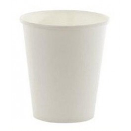 Koffiebekers Karton wit 180 cc  100 stuks