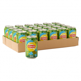 Lipton Icetea pure green  blikjes 24 x 0,33L
