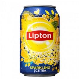 Lipton Icetea sparkling blikjes 24 x 0,33L