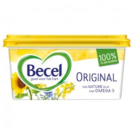 Margarine Becel origineel  kuip 500 gram