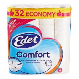 Toiletpapier Edet family 3-laags 32 rollen OP=OP