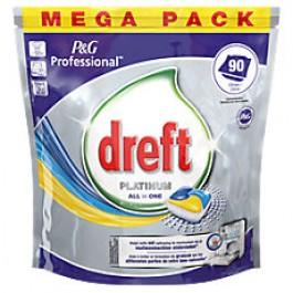 Vaatwastablet Dreft Platinum  90 stuks  1+1 GRATIS