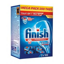 Vaatwastablet  Finish all-in-1 200stuks