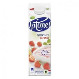 Yoghurt Optimel aardbei 1L