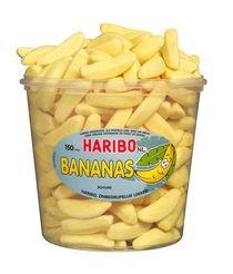 Haribo schuim bananen 150stuks