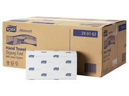 Handdoekjes Tork  wit H3 system soft 2 laags 5x1 pak a 200 stuks