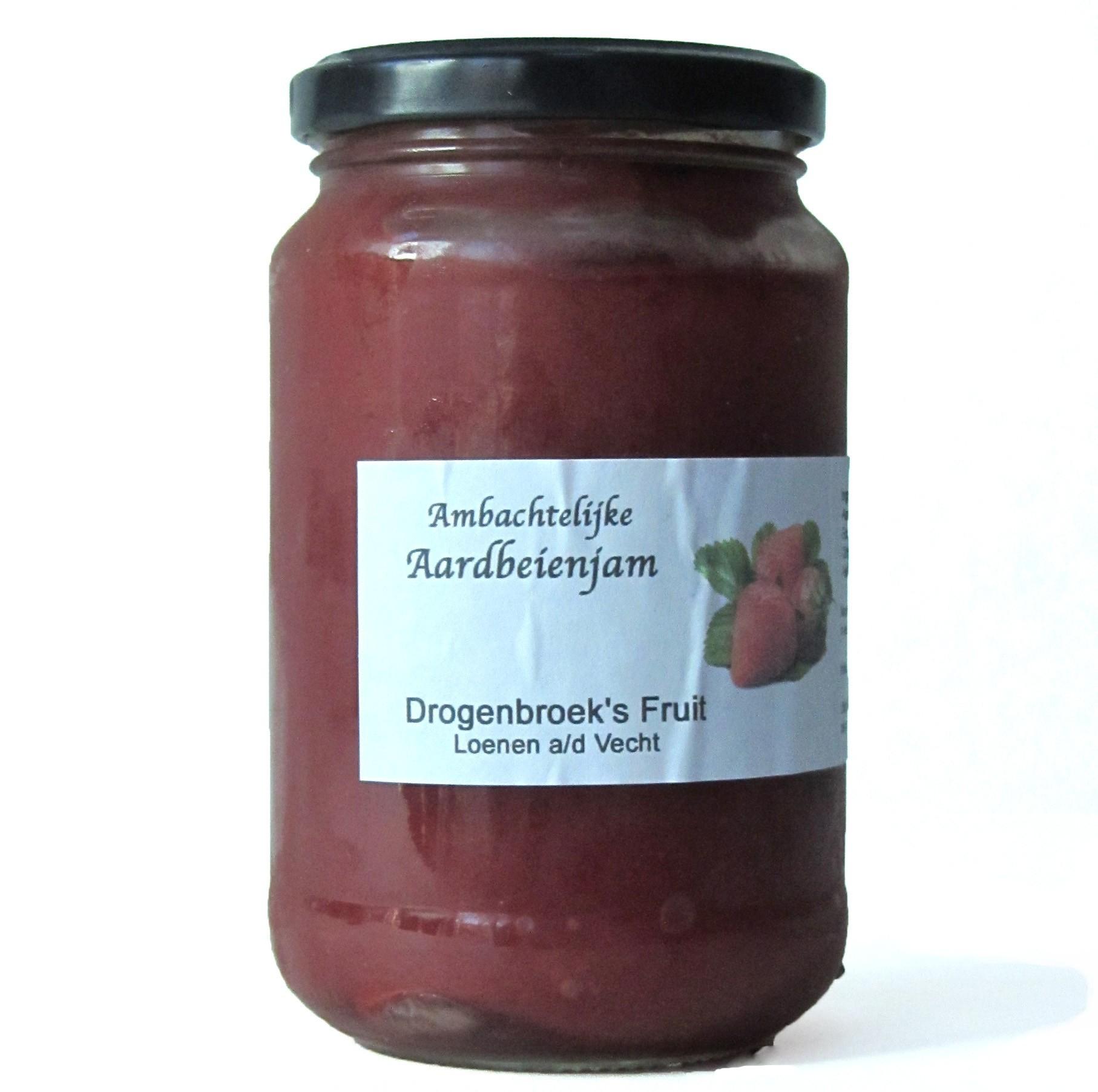 Aardbeienjam ambachtelijk streekproduct 400 gram