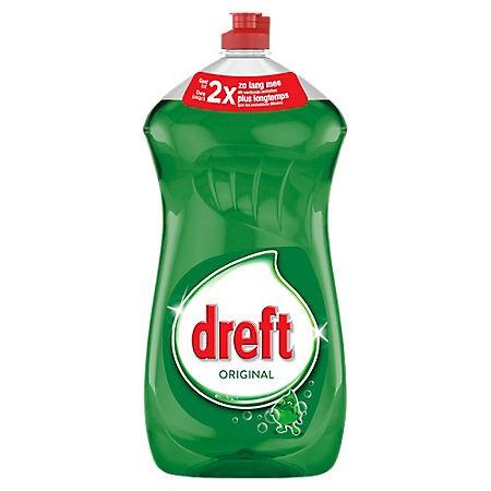 Afwasmiddel Dreft groen flacon 1500 ml.