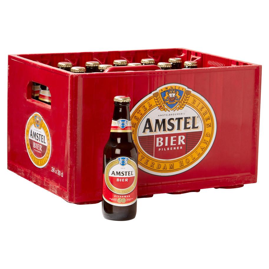 Amstel bier krat 24x0,3L