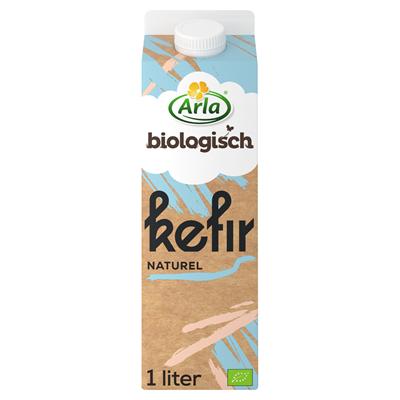 Arla biologisch kefir naturel pak 1 liter