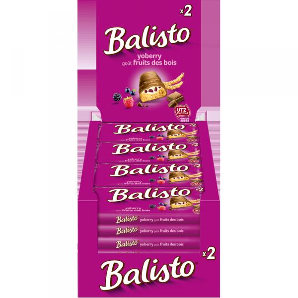 Balisto Yoberry mix paars uitdeeldoos 20 stuks
