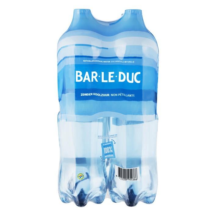 Bar le duc blauw 4x1,5 liter petfles