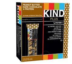 BE KIND bars Peanut Butter Dark chocolate +protein doos 12 repen a 40 gram