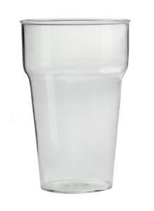 Bierglazen plastic 100stuks