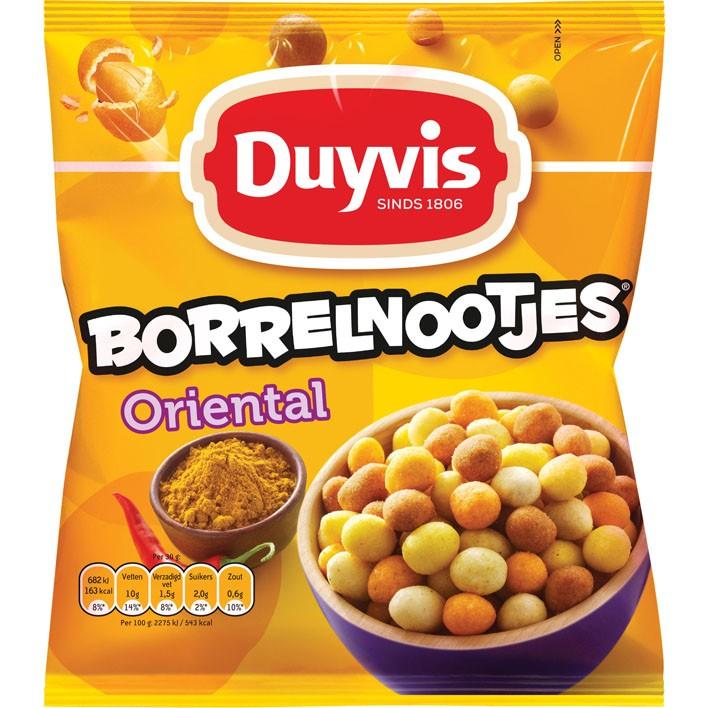 Borrelnoten Duyvis Oriëntal 300 gram
