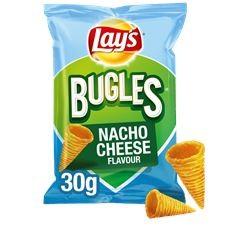 Bugles nacho cheese Lays doos 24x30 gram