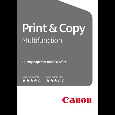 Kopieerpapier Canon  print & copy 5 pakken x 500 vel, 80 gram A4 formaat