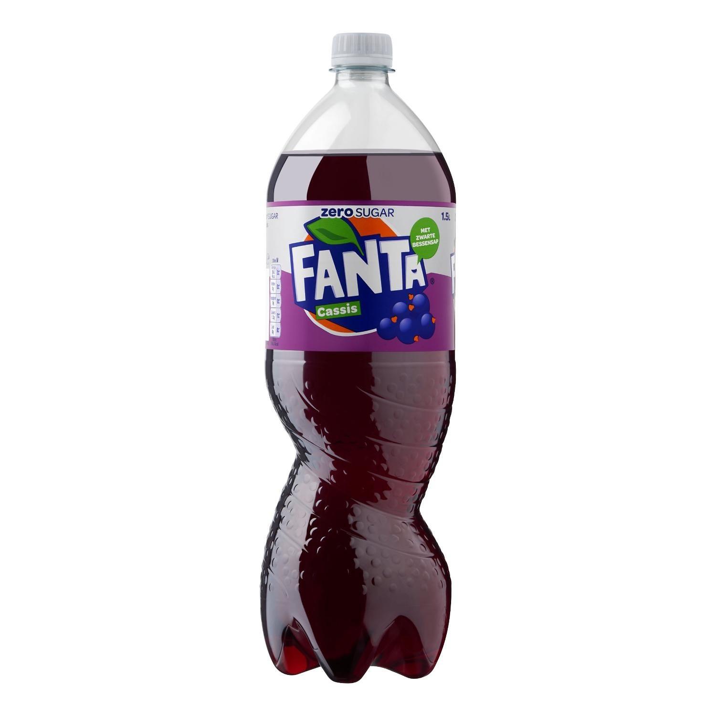 Cassis Zero Fanta petfles 1,5 liter