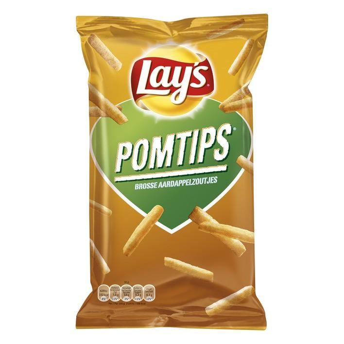 Chips Lay's Pomtips 125 gram