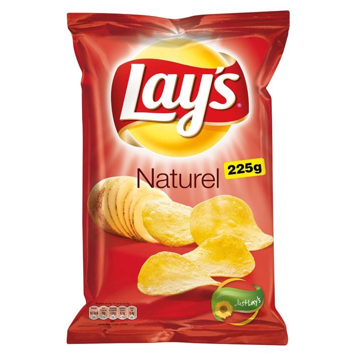 Chips Lay's naturel 225 gram