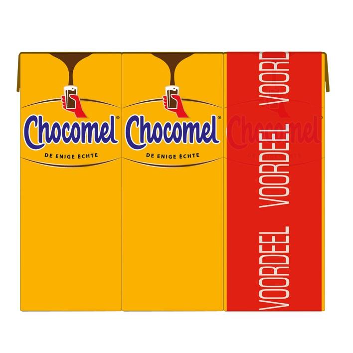 Chocolademelk Chocomel vol Nutrica drinkpakjes 30 x 0,2L