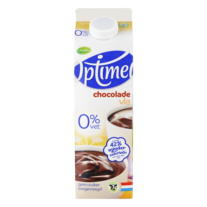 Chocoladevla Optimel 1L