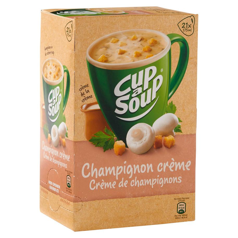Cup a soup champignon creme 21 zakjes