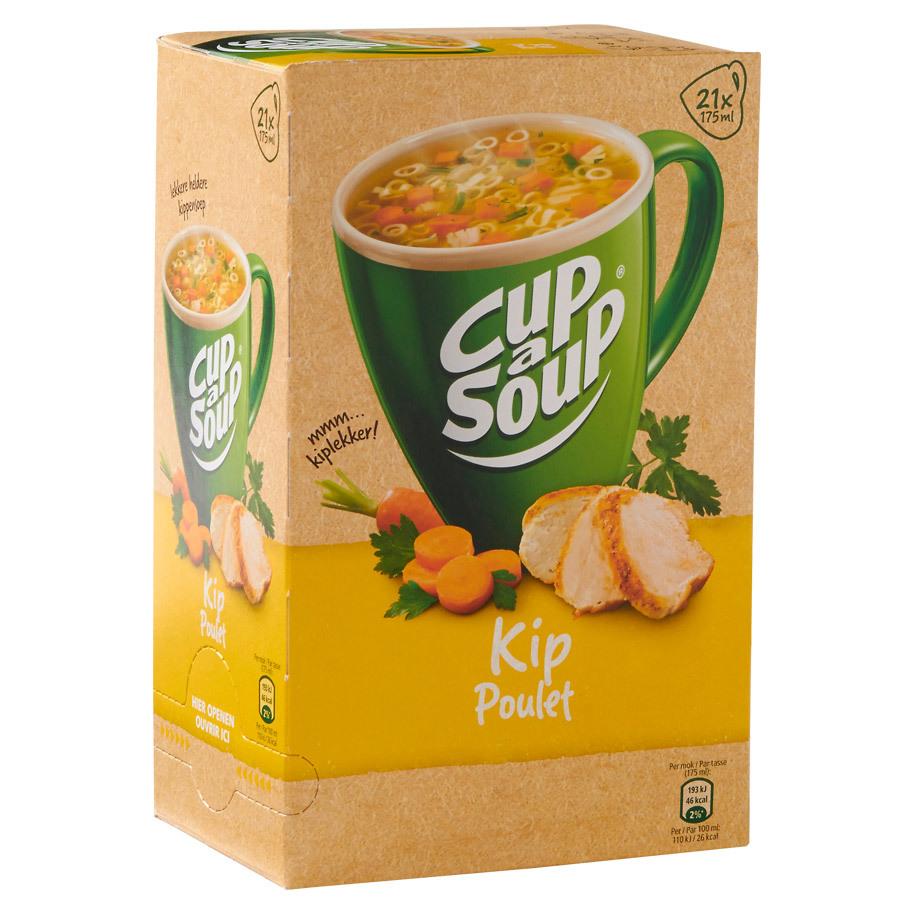 Cup a soup kip 21 zakjes