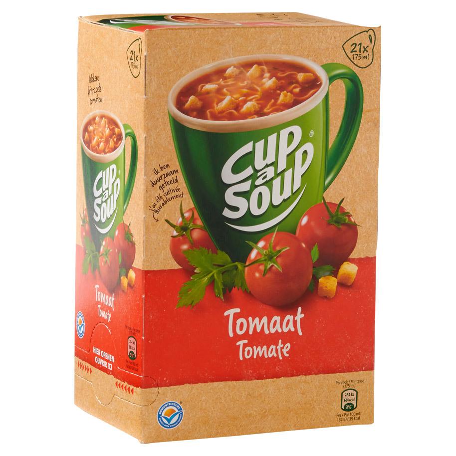 Cup a soup tomaat 21 zakjes