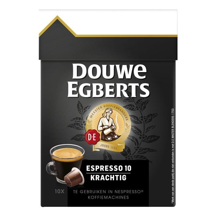 Douwe Egberts capsules  Lungo Espresso krachtig 10 stuk
