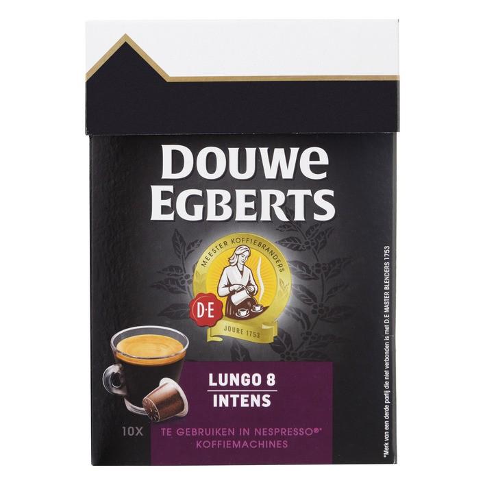 Douwe Egbert capsules Lungo Intens 10 stuks