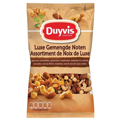 Duyvis luxe gemengde gezouten noten zak 1000 gram