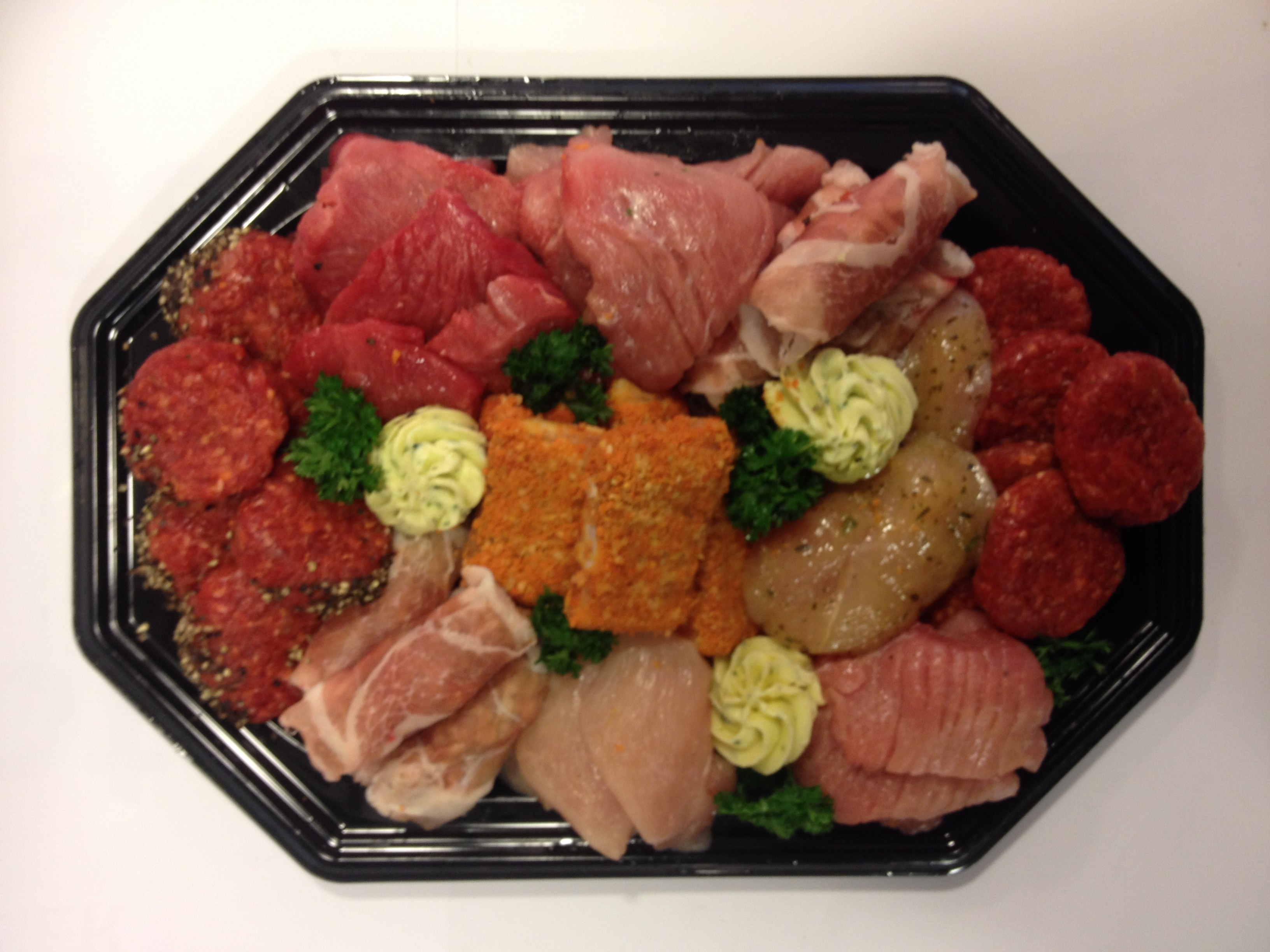 Gourmetschotel per persoon 250 gram  2 dagen van tevoren bestellen (vers van de keurslager)