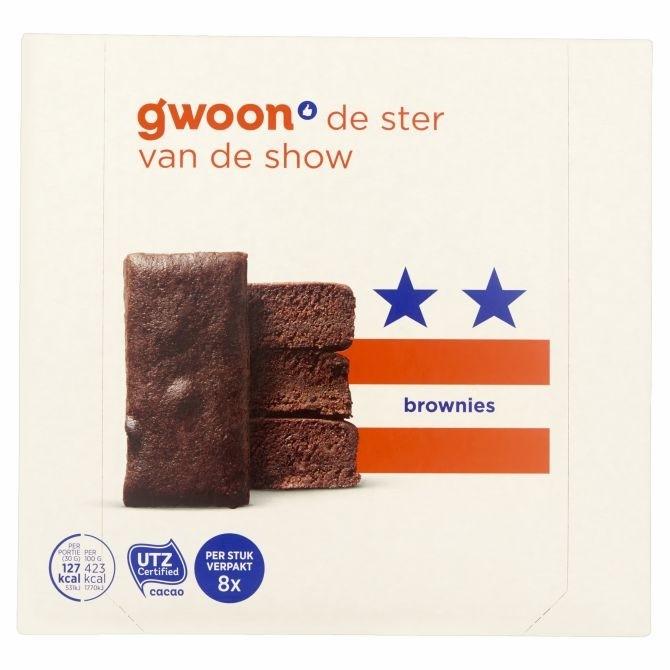 G'woon brownies 240 gram