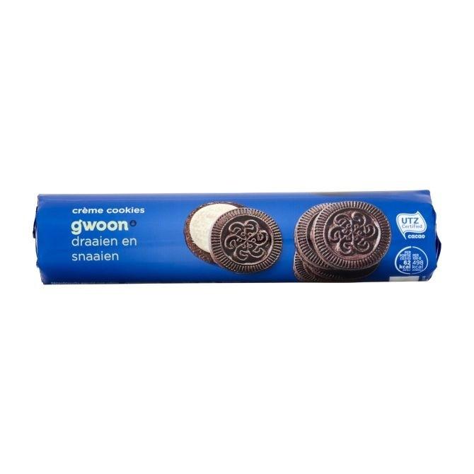 G'woon creme koekjes 176 gram