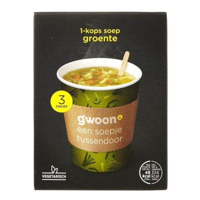 G'woon groentesoep 1- kops 45 gram