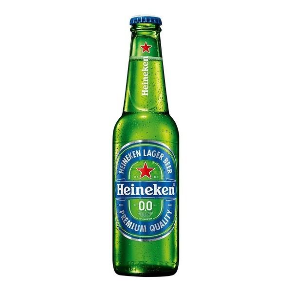 Heineken alcoholvrij 0.0 flesjes krat 24 x 30 cl