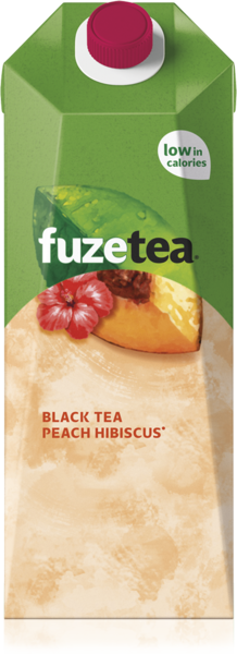 Icetea Fuze black tea peach hibiscus 1,5L