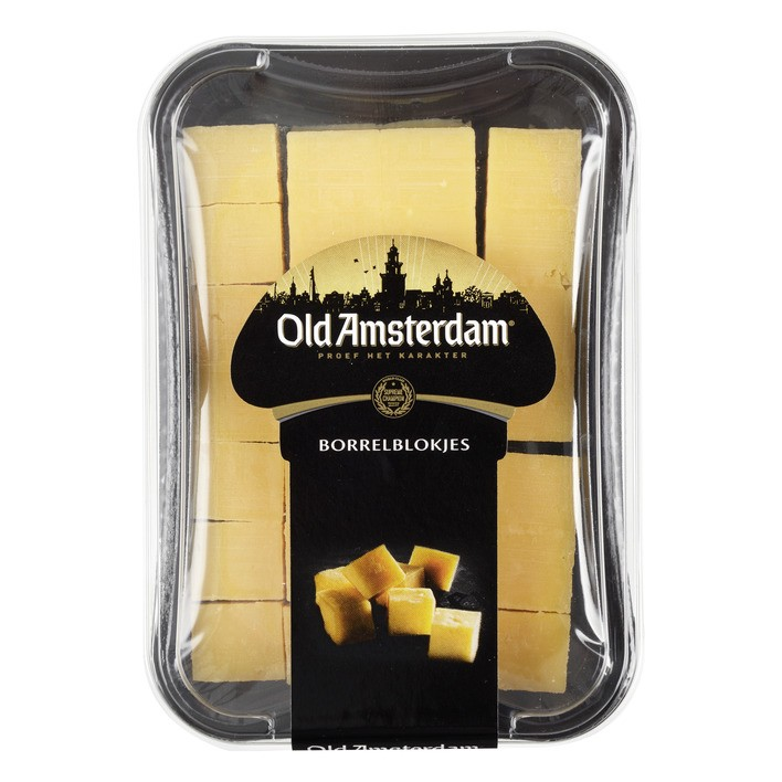 Kaas Old Amsterdam borrelblokjes 150 gram