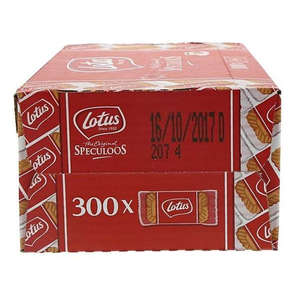 Koek Lotus speculooskoek  doos 300 stuks per stuk verpakt