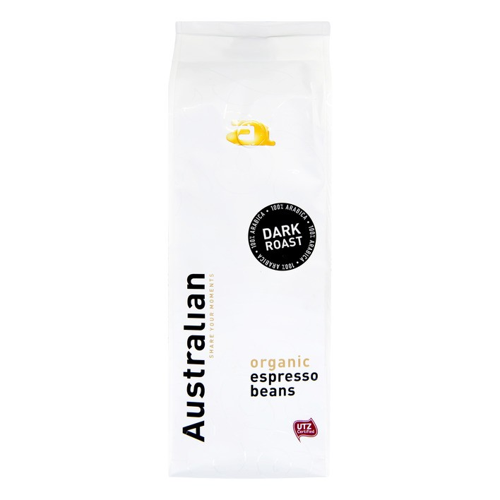 Koffiebonen Australian Dark roast 750 gram