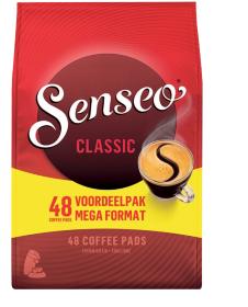Koffiepads Douwe Egberts Senseo Classic  48 stuks