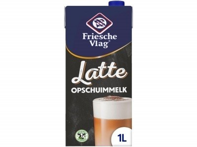 Friesche vlag Latte opschuimmelk pak 1 liter