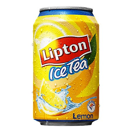 Lipton Icetea no bubbles lemon blikjes 24 x 0.33cl