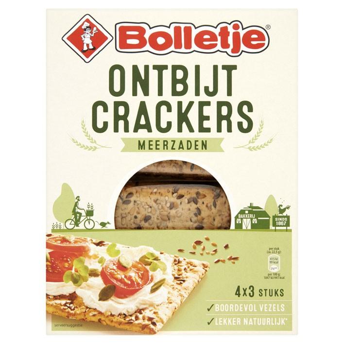 Ontbijtcrackers Bolletje meerzaden pak 240 gram